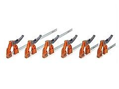 Bora 6-Piece Lever Clamp Set