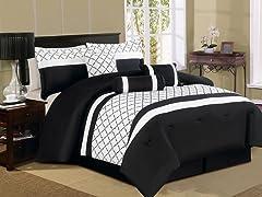 Pathway 7pc Comforter Set - 2 Sizes