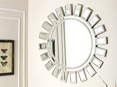 Shine Round Wall Mirror