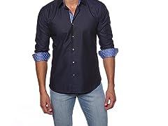 Jared Lang Dress Shirt, Navy