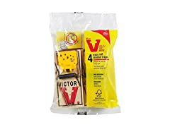 Victor Easy Set Mouse Trap (4 Pack)