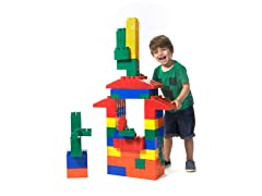 Mighty Big Blocks 100 Piece Jumbo Set- Primary or Pastel