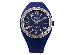 Men's BOX 40Z BLU Blue Dial Watch
