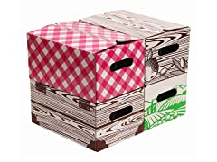 Pint Jar Storage Boxes 4-Pack