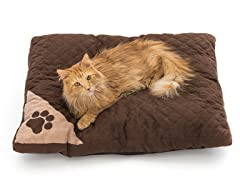 Braxton Chenille Plaid Pet Bed