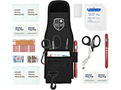 First Aid Supplies and EMT Holster