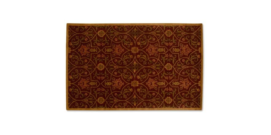Jaipur calais deep ruby rug 5 x 8 for Gardening tools jaipur