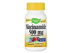 Nature's Way, Niacinamide, 500 mg, 100 C