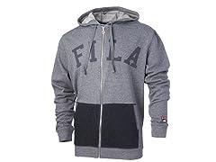 FILA Men's Gym Rat Full Zip Hoody, 2 Colors