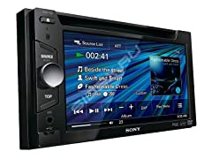 "6.1"" WVGA Touch Screen A/V Receiver"