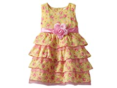 Nannette Floral Ruffle Dress (2T-4T)