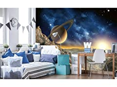 Spacescape Wall Mural