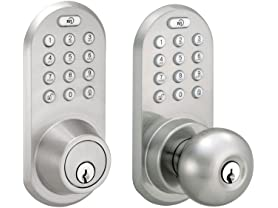 MiLocks Bluetooth and Keypad Deadbolt or Door Knob