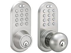 MiLocks Bluetooth and Keypad Deadbolt or Door Knob