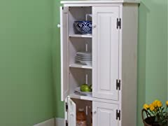 Tall Cabinet- Antique White