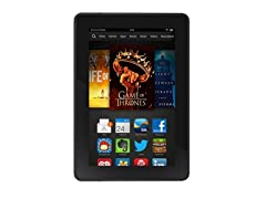 "Kindle Fire HDX 7"", Wi-Fi and 4G LTE"