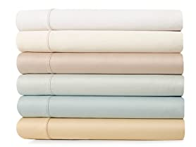 600TC 100% Cotton Sheet Set w/ Bonus PCs
