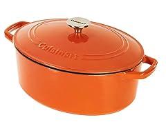 Cuisinart 5.5 Quart Casserole, Orange