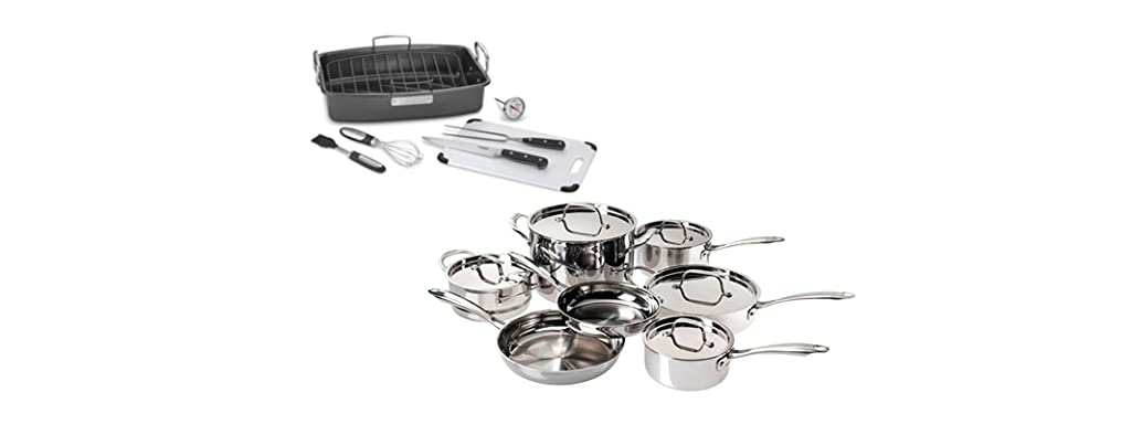 Cuisinart Cookware & Prep Sets: 3 Styles