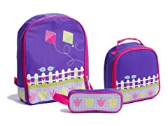 Aquarella Kids Purple Bird 3-Pc Bundle