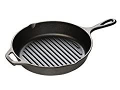 "10.25"" Cast Iron Grill Pan"