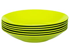 "Ella Bowl 8.25"" - Set of 6 - Kiwi"