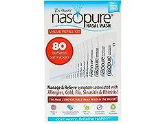 Nasopure Refill Kit 80 Count
