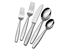 18/10 42pc Flatware Set-Gia
