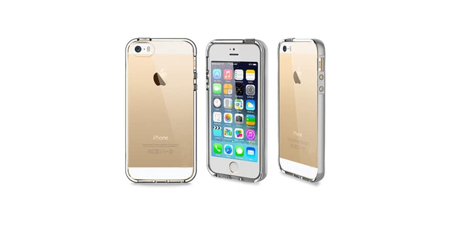 led iphone 5s case led light up bumper for iphone 5 5s 5722