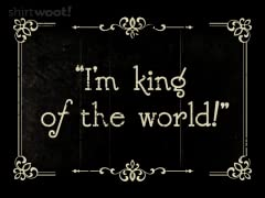 I'm King of the World