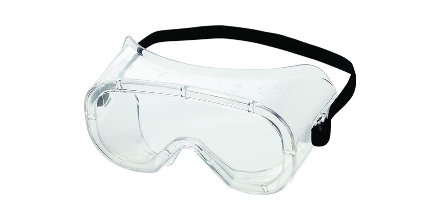Sellstrom Advantage Series Safety Goggles, Clear Coated with Anti-Fog, Indirect Vents, Lightweight, Clear Body, Black Elastic Strap, Z87.1-2015 Certified (Pack of 144 Units) | WOOT