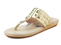 Umi Jaycee Sandal - Gold (27-34)