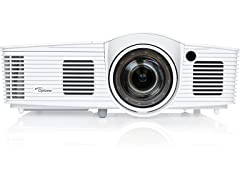 Optoma EH412ST Short Throw 1080P HDR Projector