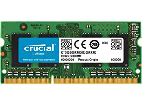 Crucial 8GB Single DDR3 Memory Module