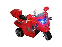 Red Lil' Rider FX Motorcycle