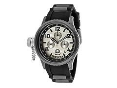 Women's Russian Diver Chronograph, Black