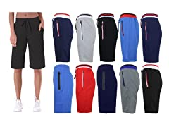 3PK Womens Assorted Lounge Shorts