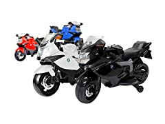 BMW 12V Motorcycle Ride-On, Your Choice