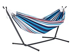 Vivere 9-Foot Double Hammock - Denim