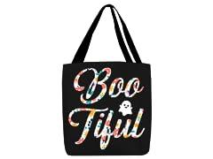 """""""Boo-tiful!"""" Small Trick or Treat Bag"""