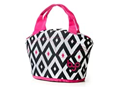 Gusto Lunch Bag- Diamond IKAT