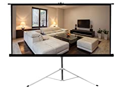 """Floor Standing Portable Projector Screen 43.3""""x57.1"""""""