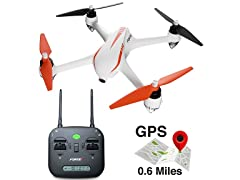 Force1 Quadcopter Drone with HD 1080p Camera and GPS