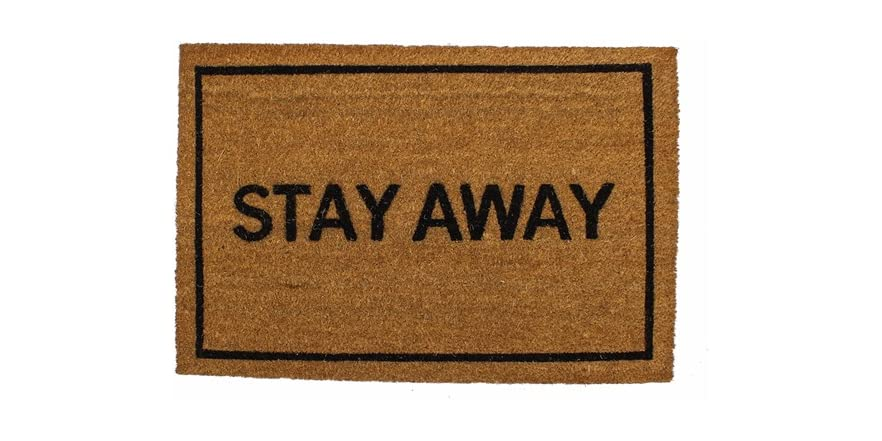 Clever doormats stay away - Clever doormats ...
