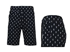 GBH Mens French Terry Print Jogger Short