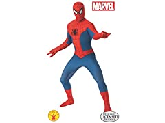 Rubies Mens Marvel 2nd Skin Spider Man L