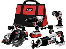 Porter-Cable Power Tools and Batteries