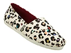 Bobs Frenzy Multi Leopard Shoe