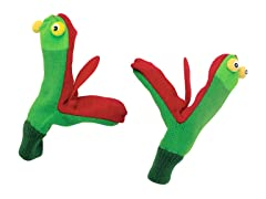 Frog Knit Mittens (SM-LG)