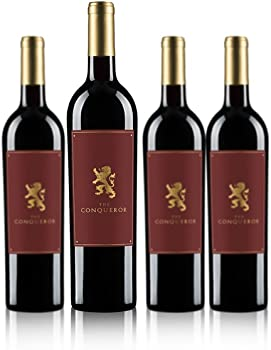 4-Pk. The Conqueror Red Blend